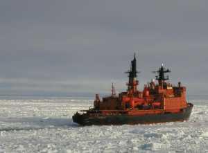 Sovietsky soyuz, et søsterskib til den russiske atomisbrydet let pobedy