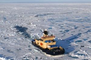 Oden i Polhavets isdække. Foto: Markus Karasti.