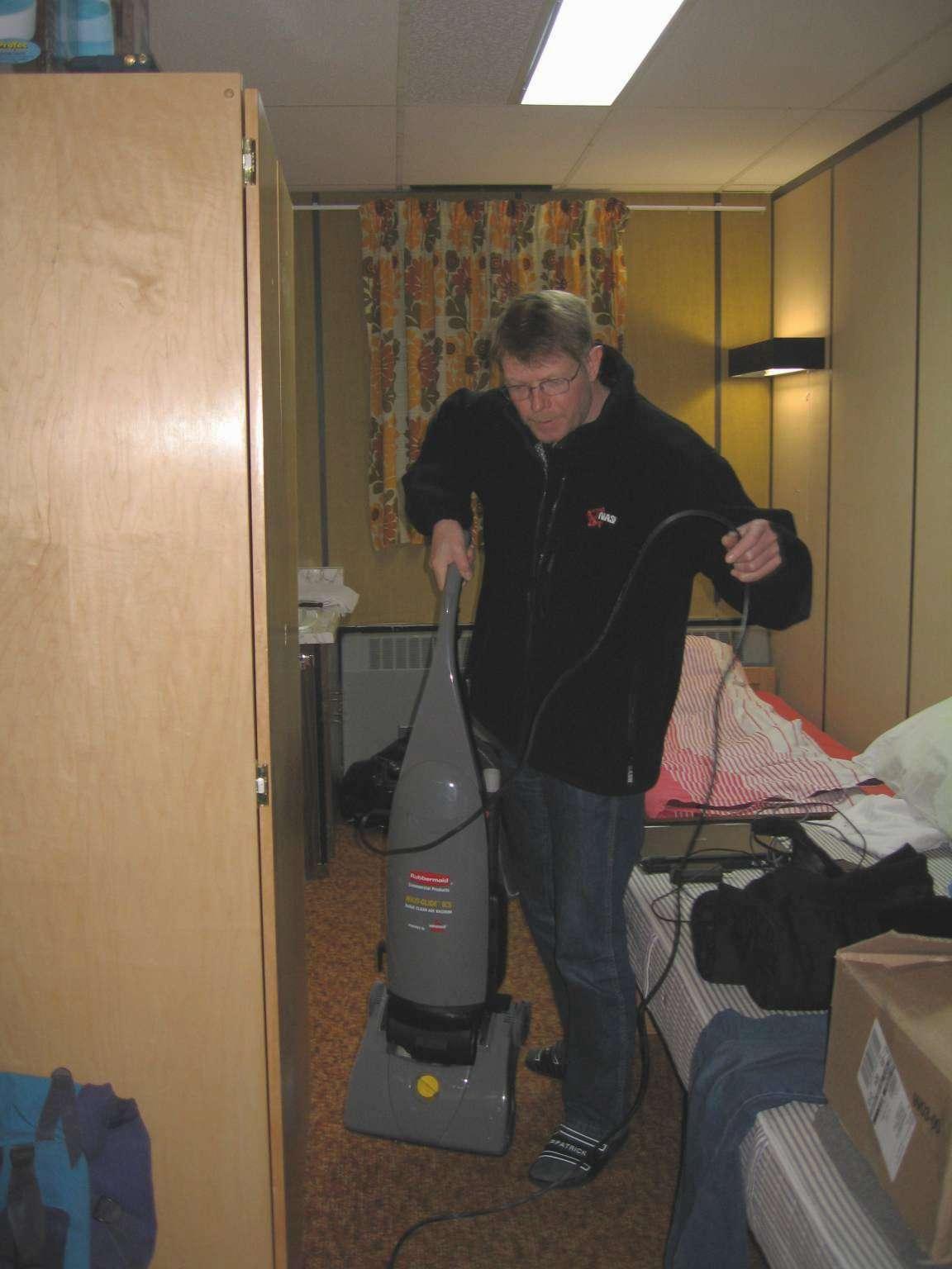Peer Jørgensen gør rent